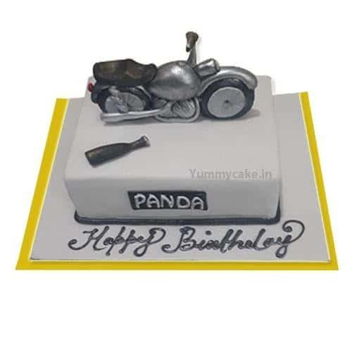 Bullet themed cake