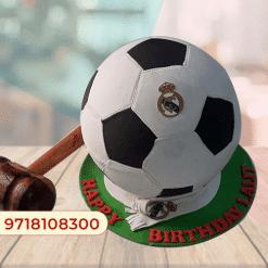 Football Pinata Hammer Cake